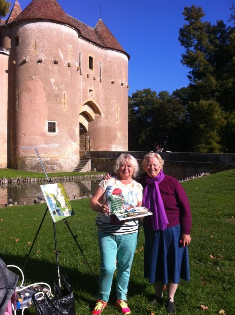 Les peintres de saint petersbourg a Ainay-le-Vieil