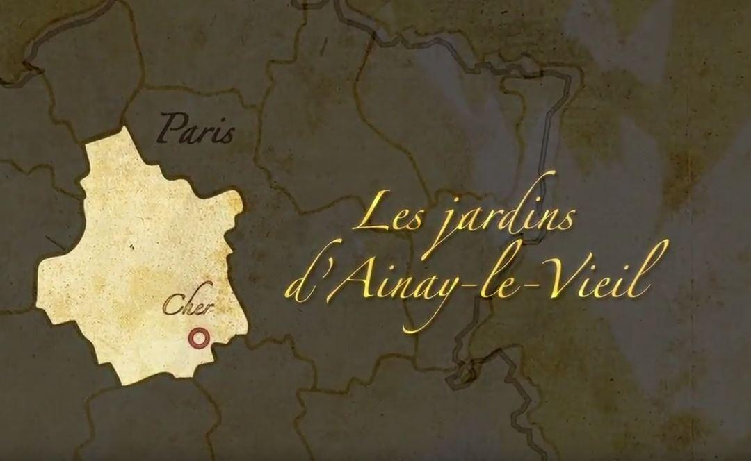 Mémoires du Futur : Jardins du château d'Ainay-le-Viel (Cher)