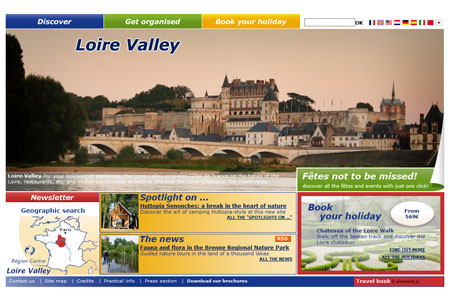 Loire Valley Tourism et le château d'Ainay le Vieil