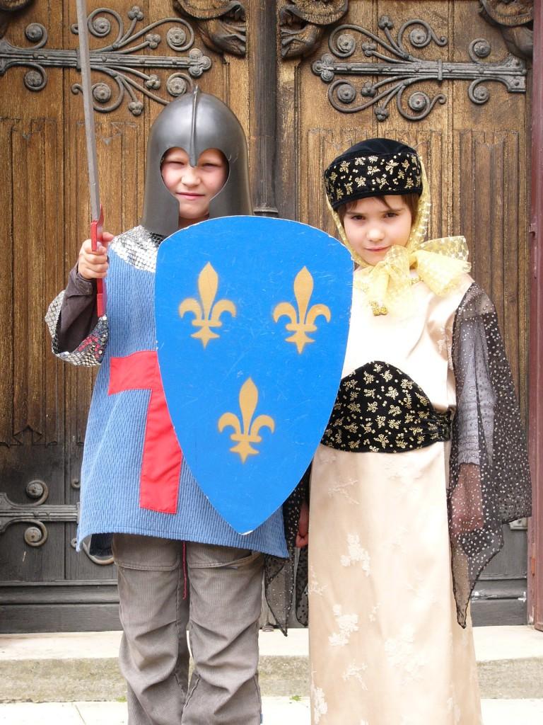 Visite du Château d'Ainay le Vieil pour les enfants
