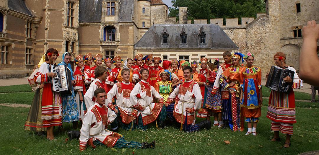 group russe à Ainay-le-Vieil