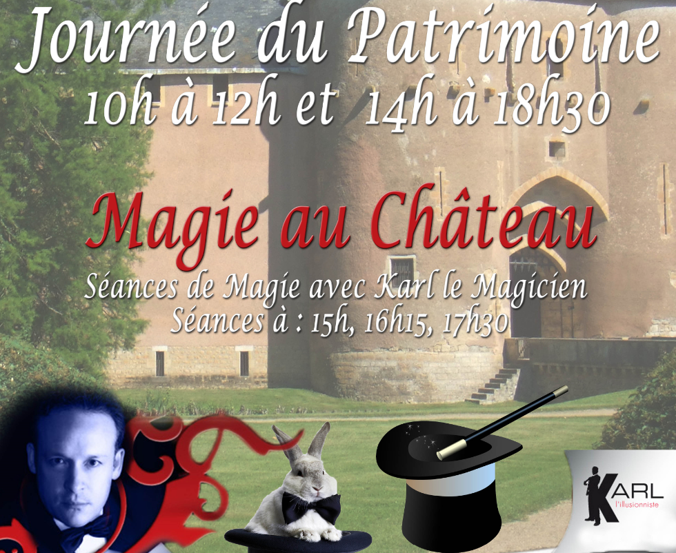 Karl le Magicien au Château d'Ainay le Vieil