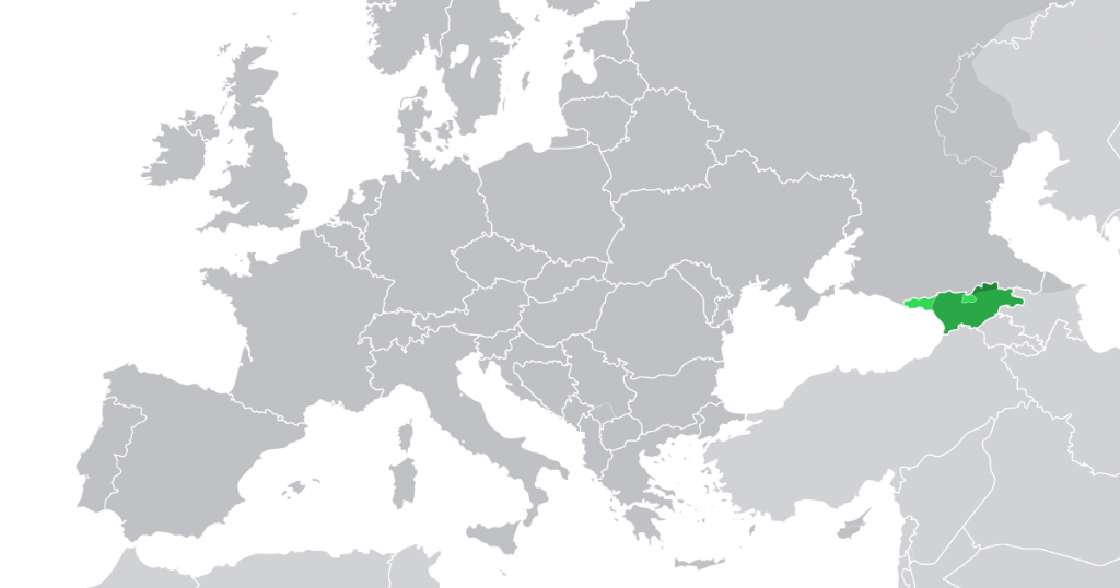 europe et georgie