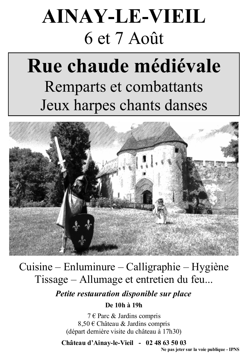 Rue Chaude Médiévale