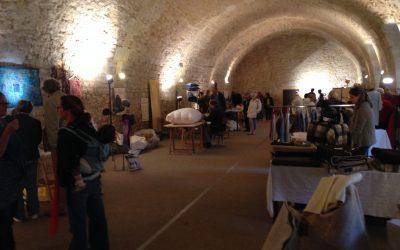Visite de la biennale des artistes et artisans du patrimoine