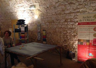 Salon du Patrimoine - métiers de la laine - Ainay-le-Vieil 2016