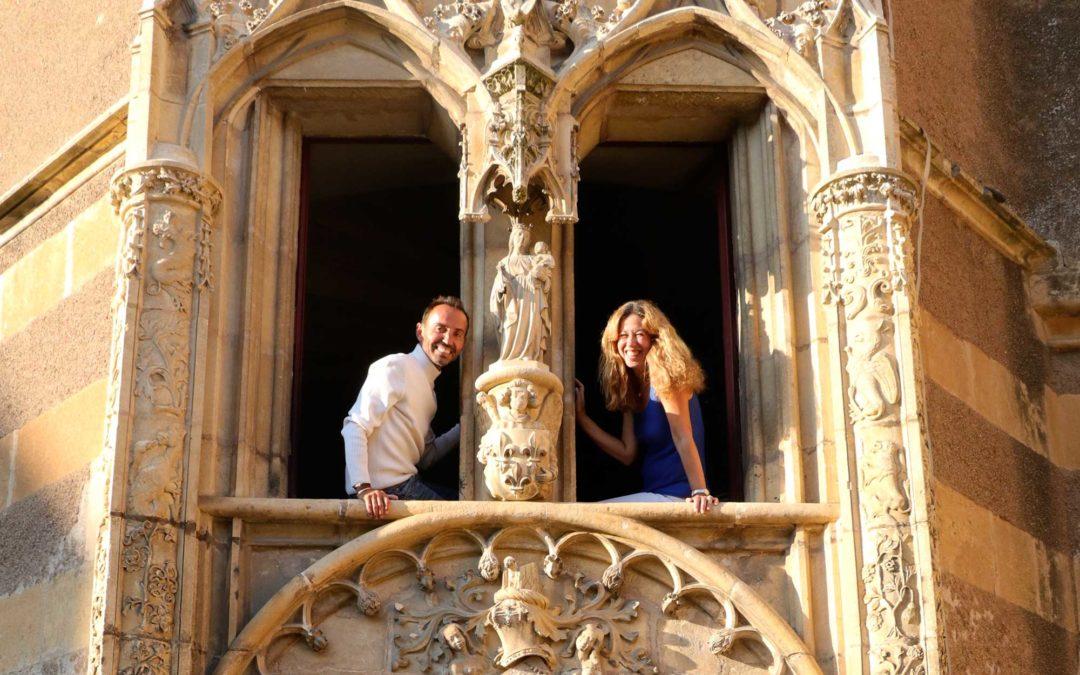 La jeune génération à la tête du Château d'Ainay-le-Vieil