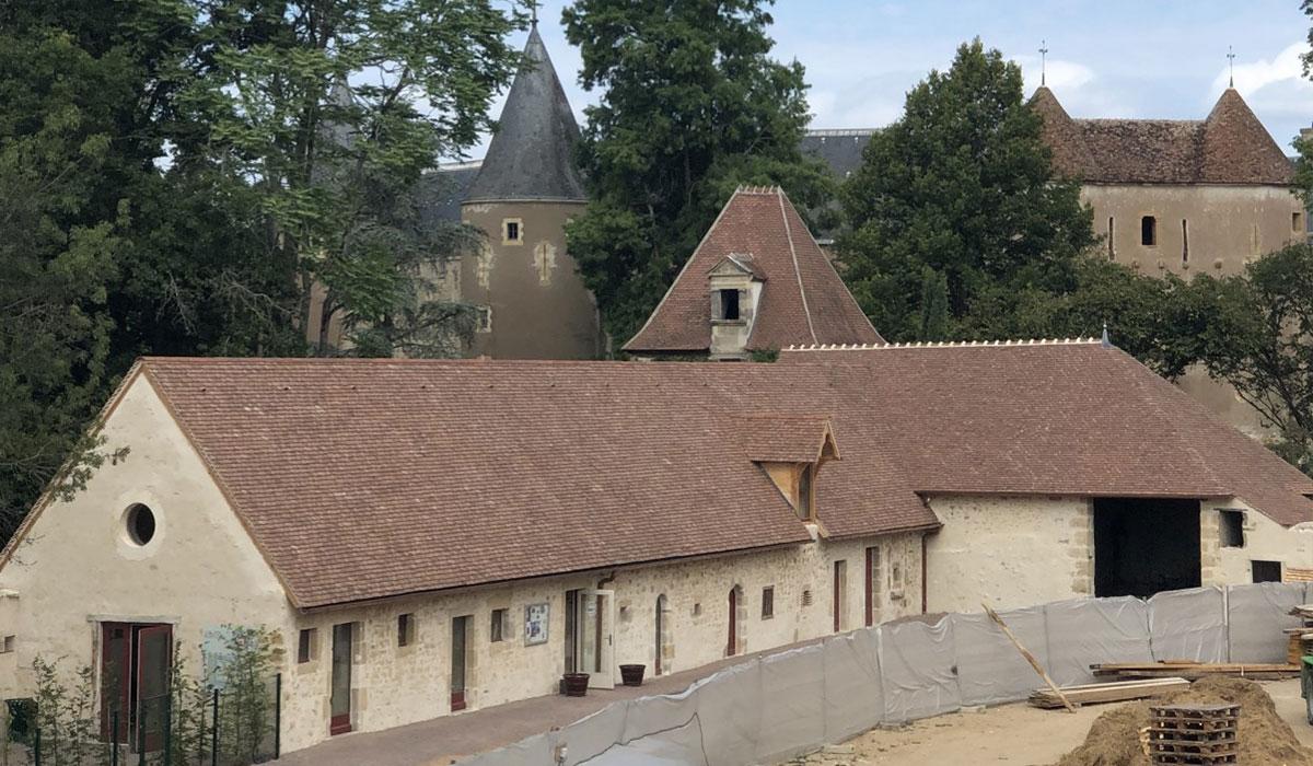 Programme de restauration des abords du château