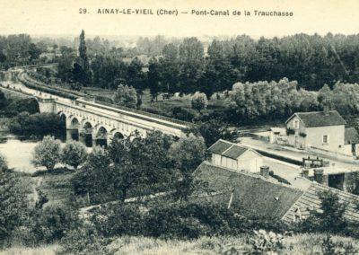 Canal du Berry - Pont-canal de la Tranchasse