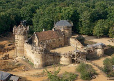 Château de Guedelon en construction
