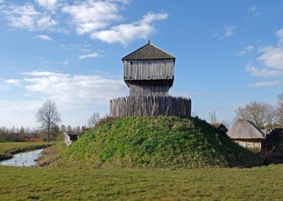 Motte Féodale - Saint-Sylvain-d'Anjou (Maine-et-Loire)