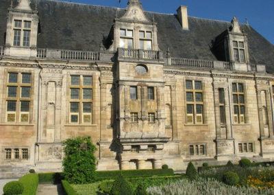 Le Château du Grand Jardin, façade est. Joinville, Haute-Marne , 1533 - 1546.