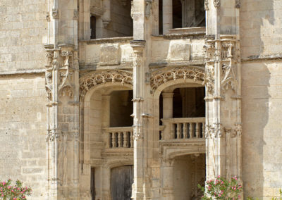 Escaliers château de Châteaudun