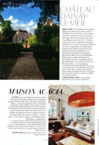 Article Air France Madame - château Ainay-le-Vieil