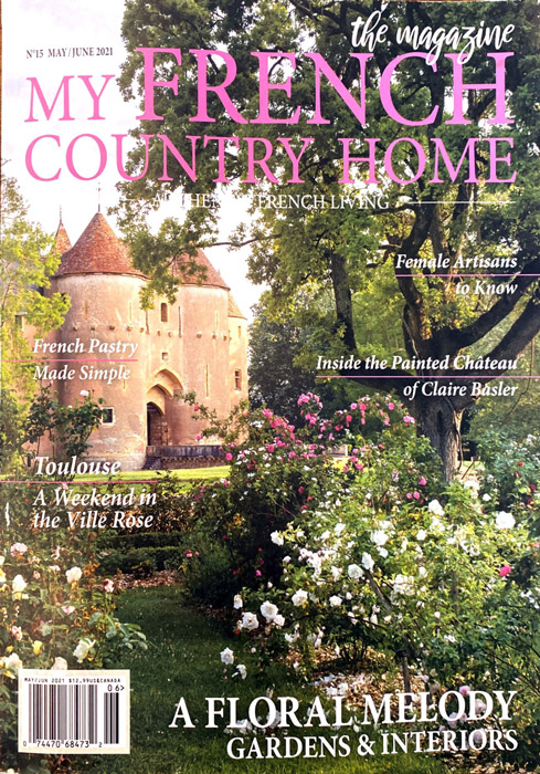 Château d'Ainay-le-Vieil, article My french country home magazine, mai 2021