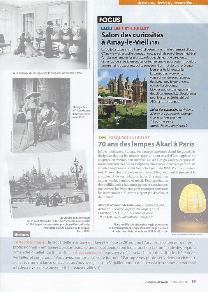 Antiquités Brocante n°273