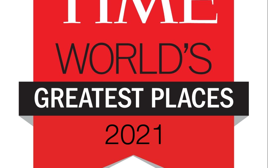 Le château d'Ainay-le-Vieil figure dans la liste annuelle du Time des 100 plus beaux lieux au monde