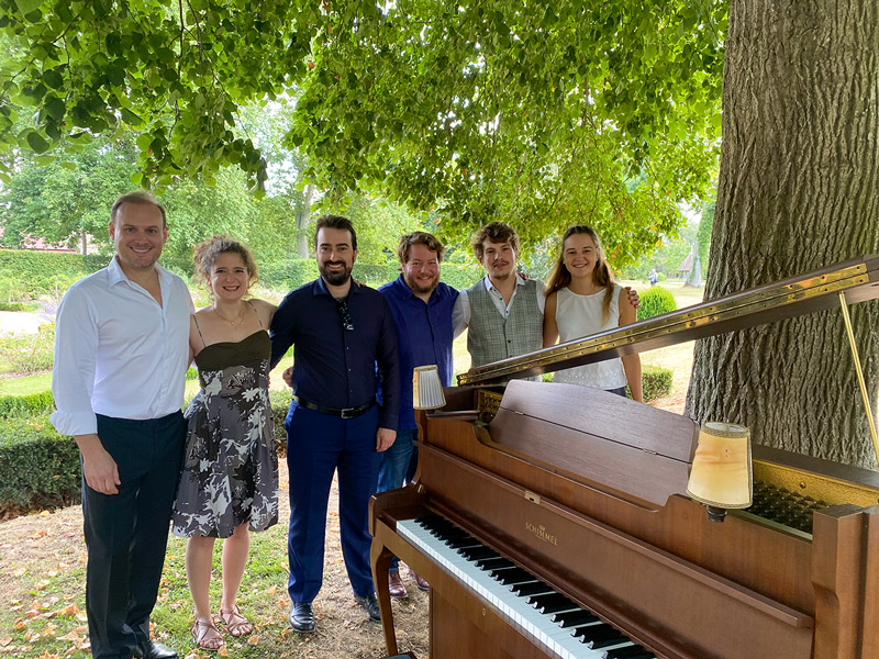 Le dimanche 22 août, la musique a résonné dans les jardins du Château d'Ainay-le-Vieil