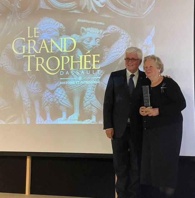 Un trophée pour les jardins